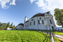 The White Church Stock Image
