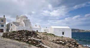 White churches Royalty Free Stock Photo