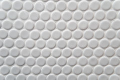 White circle tile pattern Royalty Free Stock Image