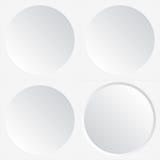 White circles Stock Photos