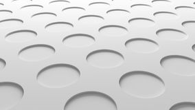White circles texture. Abstract pattern flooring background. 3d. Illustration royalty free illustration