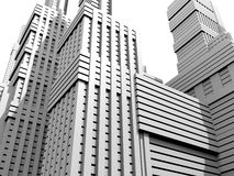 White city Royalty Free Stock Photo
