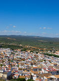 White city of Andalusia, Spain Stock Image