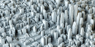 White City Buildings Stock Image