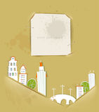White city collection, City background Royalty Free Stock Photo
