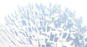 White city Stock Photo
