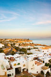 White city and sea Royalty Free Stock Image