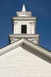 White clapboard church Stock Photo