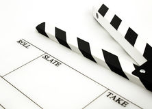 White clapboard Stock Image