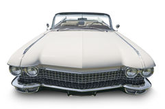 White Classic Cadillac Royalty Free Stock Image