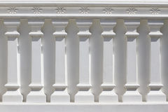 White Classic Column Stock Images