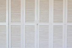 White classic door Stock Image