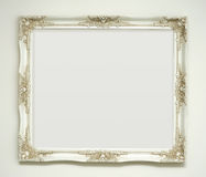 White classic picture frame Stock Photography
