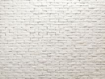 White clay brick wall facade interior design for pattern wallpaper, background and backdrop. Shop, commercial, texture, masonry, bricks, stone, natural stock photography