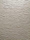 White clay brick wall facade interior design for pattern wallpaper, background and backdrop. Shop, commercial, texture, masonry, bricks, stone, natural stock photos