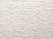 White clay brick wall facade interior design for pattern wallpaper, background and backdrop. Shop, commercial, texture, masonry, bricks, stone, natural stock images