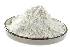 White clay powder Royalty Free Stock Images