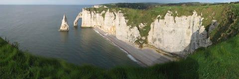 White cliff Stock Image