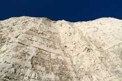 White cliff blue sky Stock Photo