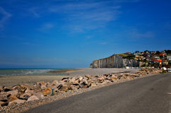 White cliff in Normandy Royalty Free Stock Photos