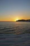 White cliff of Scala dei Turchi near Agrigento, Sicily Stock Photo