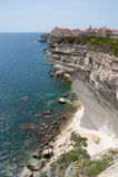 The white cliff Stock Photo