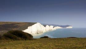 White Cliffes Stock Photos