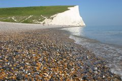White cliffs. On the south coast of England Royalty Free Stock Photography