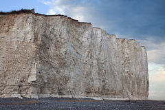 White cliffs at Birling Gap Stock Image
