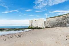 White cliffs Botany Bay La Manche English channel Stock Image