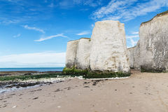 White cliffs Botany Bay La Manche English channel Stock Photography