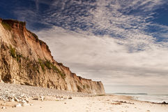 White cliffs in color Stock Image