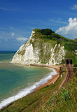 White cliffs of Dover Stock Photos