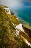 White Cliffs of Dover. A picture of the White Cliffs of Dover, in the UK Royalty Free Stock Images