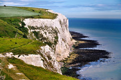 White Cliffs of Dover. A picture of the White Cliffs of Dover, in the UK Royalty Free Stock Image