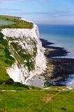 White Cliffs of Dover. A picture of the White Cliffs of Dover, in the UK Stock Images