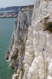 White cliffs of Dover. On a sunny days, UK Stock Photo