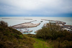 White cliffs of Dover Royalty Free Stock Photo