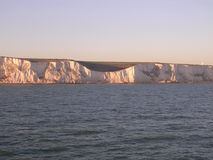 The White Cliffs of Dover. England stock image