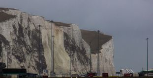 The White Cliffs of Dover stock image