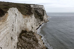 White cliffs of Dover, Royalty Free Stock Images