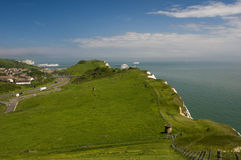 The white cliffs of Dover, Kent, U.K Royalty Free Stock Photography