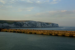 White cliffs of Dover Sunset Royalty Free Stock Image