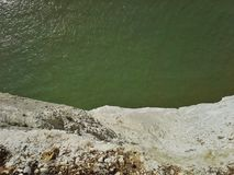 White Cliffs Drop Off Royalty Free Stock Photo