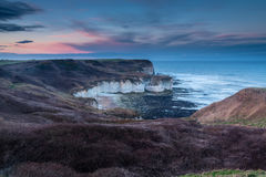 White Cliffs at Flamborough Head Royalty Free Stock Images