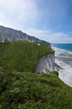 White Cliffs Iturup. Stock Photography