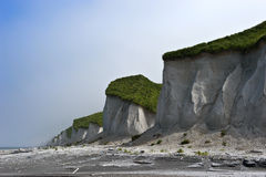 White Cliffs Iturup. Stock Images
