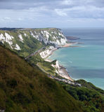 White cliffs of Kent. South-east England Stock Image