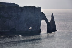 WHITE CLIFFS, ETRETAT, FRANCE Stock Photos