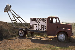 White Cliffs Opal Town Stock Image